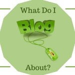 What do I blog about?