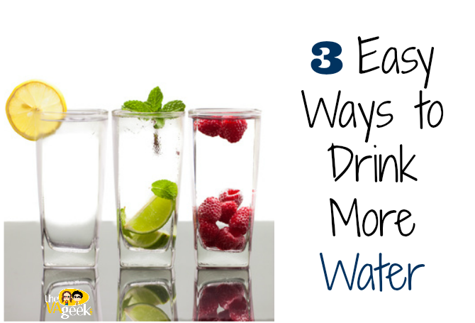 3 Easy Way To Drink More Water