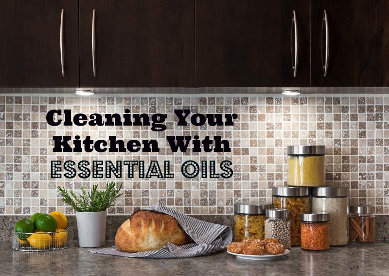 Clean kitchen with backsplash