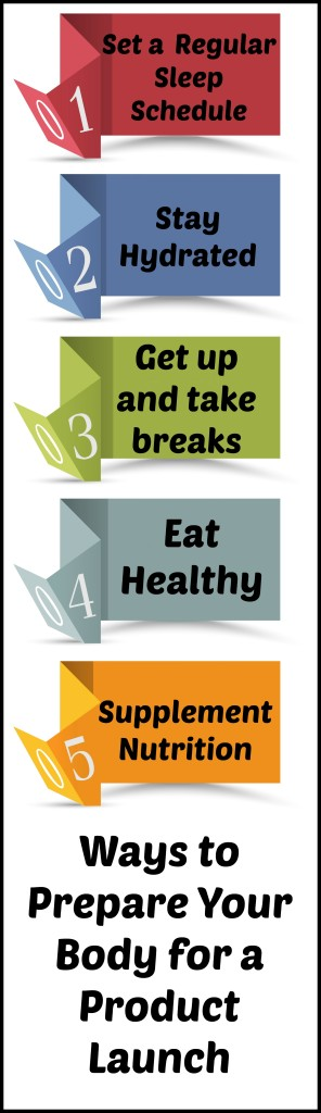 Ways to Prepare Your Body For a Product Launch