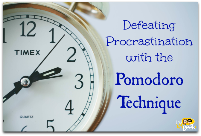 Defeating Procrastination with the Pomodoro Technique