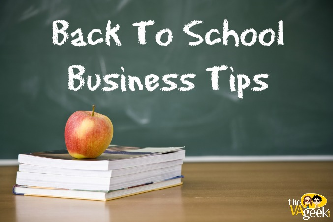 Back To School Business Tips