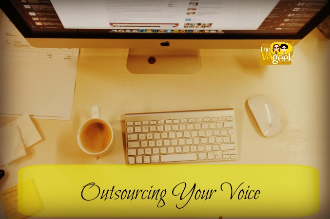 Outsourcing Your Voice