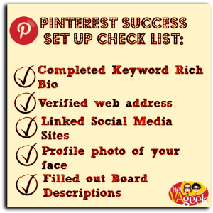 Pinterest Checklist New