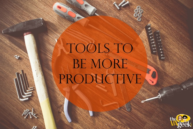 Tools To Be More Productive