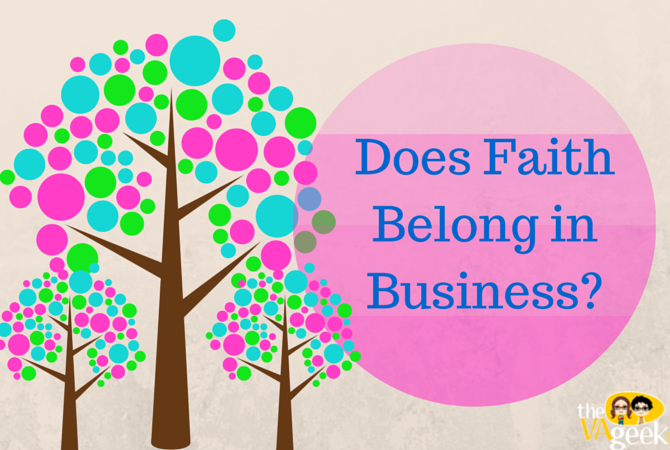 Does Faith Belong in Business_