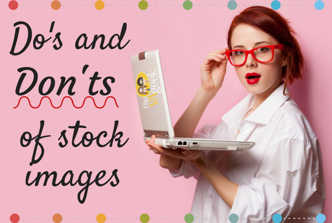 Do's and Don'ts of Stock Images