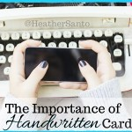 The Importance of Handwritten Cards