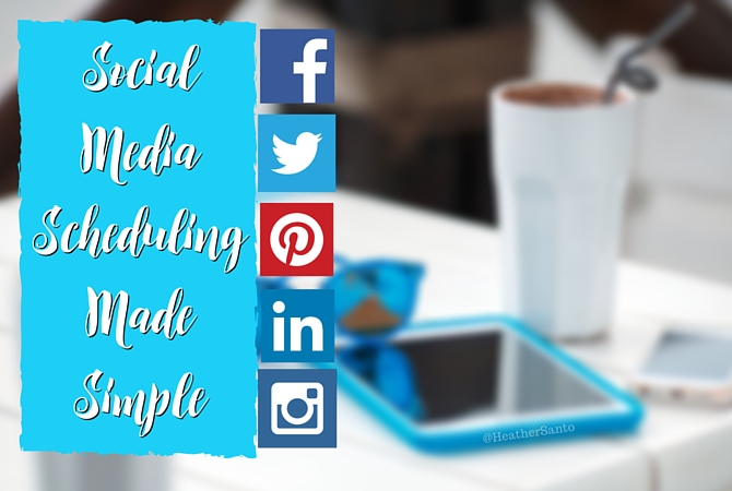 Image of a smartphone and coffee Social Media Scheduling Made Easy