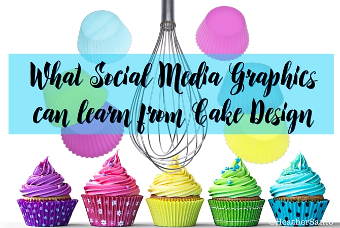 What Social Media Graphics can Learn from Cake Design - Image of Cupcakes and Bakeware