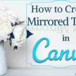 How to Create Mirrored Text in Canva